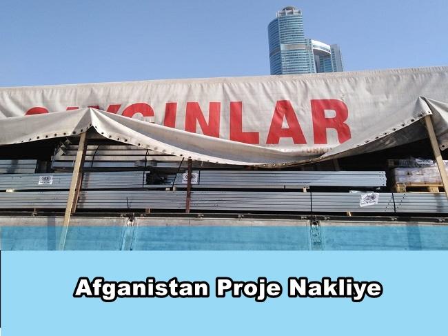 Afganistan Proje Nakliye
